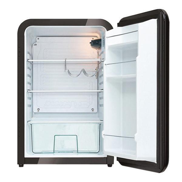 retrokjøleskap innside