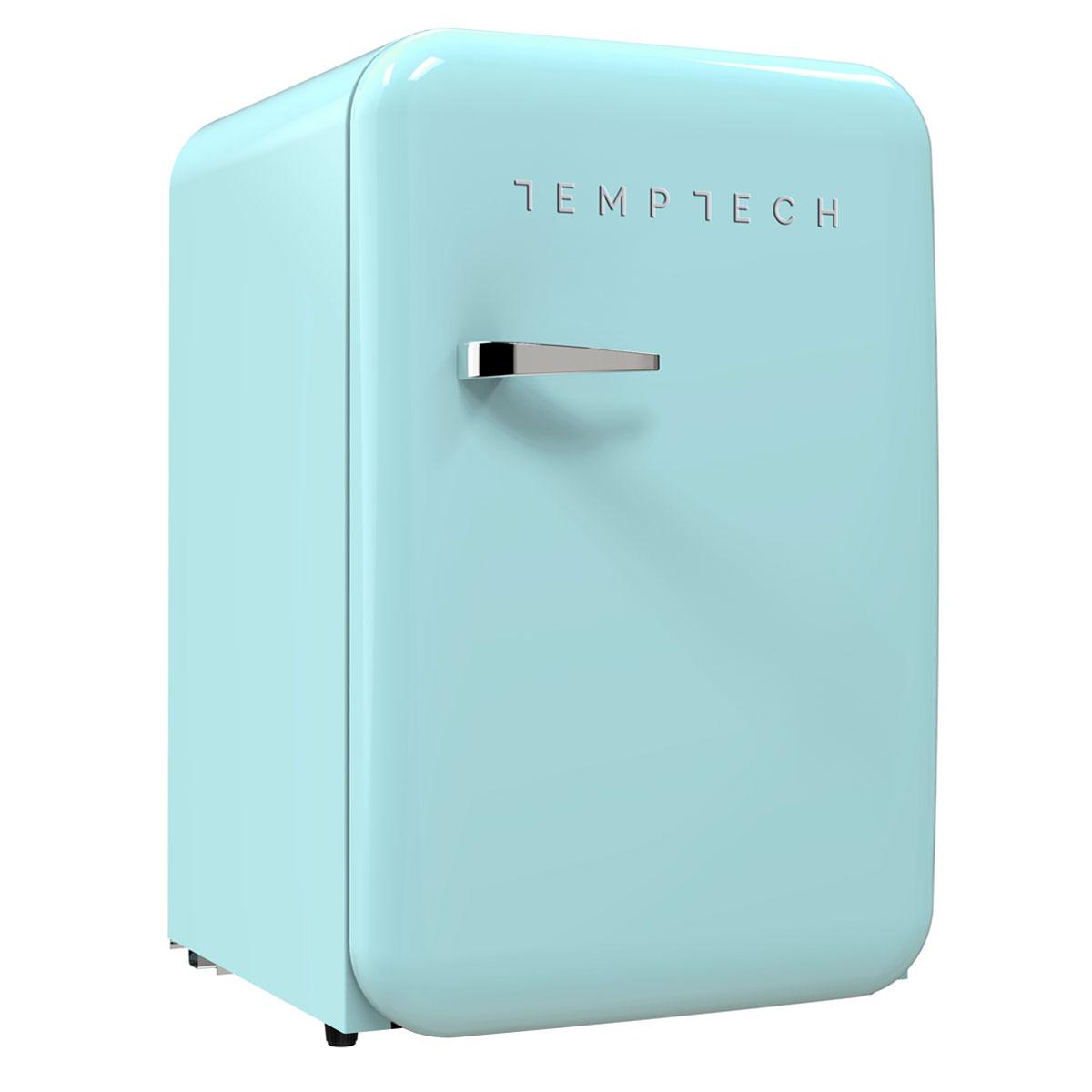 9a38bfd1 HRF130RLBLUE retro kylskåp - TEMPTECH